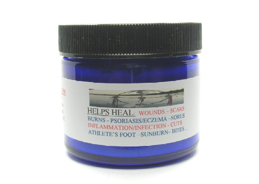 lavender and rosemary natural first aid cream drawing